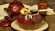 Фото рецепта Судак с картофелем в горшочках