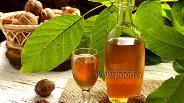 Фото рецепта Ореховая настойка с мёдом