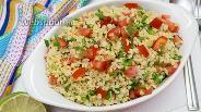 Фото рецепта Салат из булгура с овощами