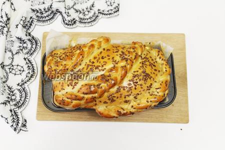 Кофейный хлеб готов. Приятного аппетита!