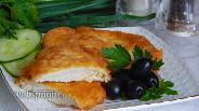 Фото рецепта Куриные отбивные в воздушном «одеяле»