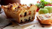 Фото рецепта Пирог с тыквой и шоколадом