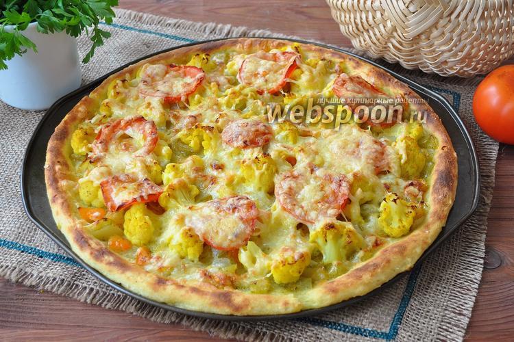 Фото Картофельная пицца