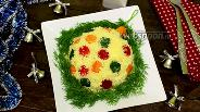 Фото рецепта Салат «Новогодний шар»