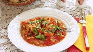 Фото рецепта Курица в томатно-луковом соусе