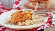 Фото рецепта Миндальный кекс с кусочками шоколада