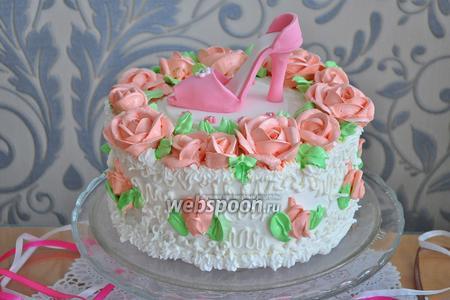 Торт «Туфелька»
