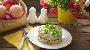 Фото рецепта Салат «Вопреки всему» с крабовыми палочками