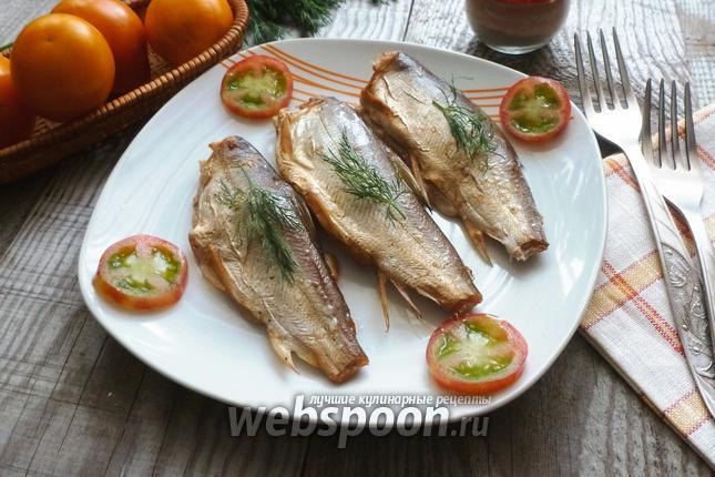 Фото Рыба сырок (пелядь), копчёная в сковороде