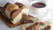 Фото рецепта Тостовый хлеб с какао