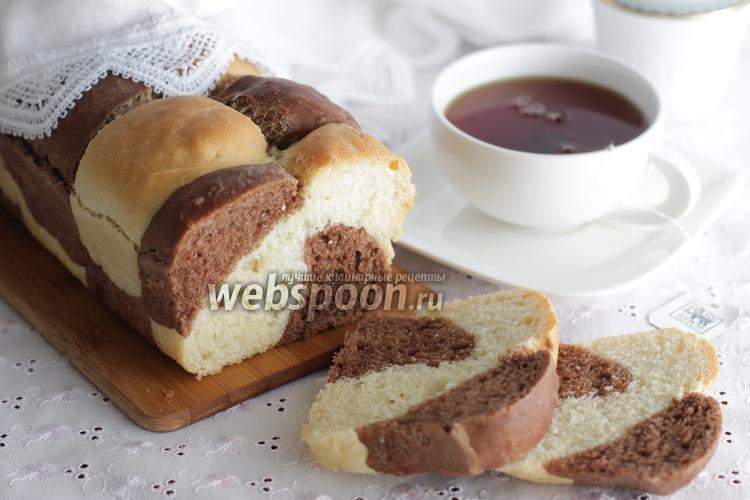 Фото Тостовый хлеб с какао