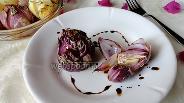 Фото рецепта Печёный лук с тимьяном