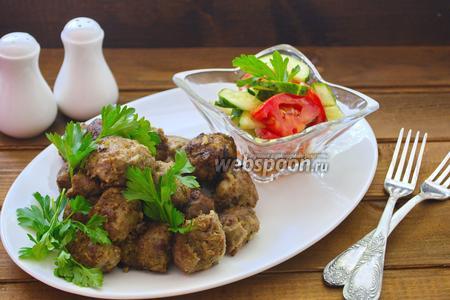 Говяжьи фрикадельки по-армянски