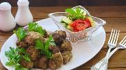 Фото рецепта Говяжьи фрикадельки по-армянски