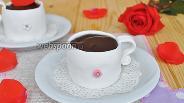 Фото рецепта Пирожное «Чашка кофе»