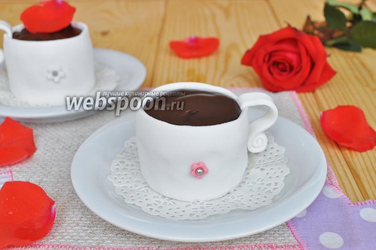 Фото Пирожное «Чашка кофе»