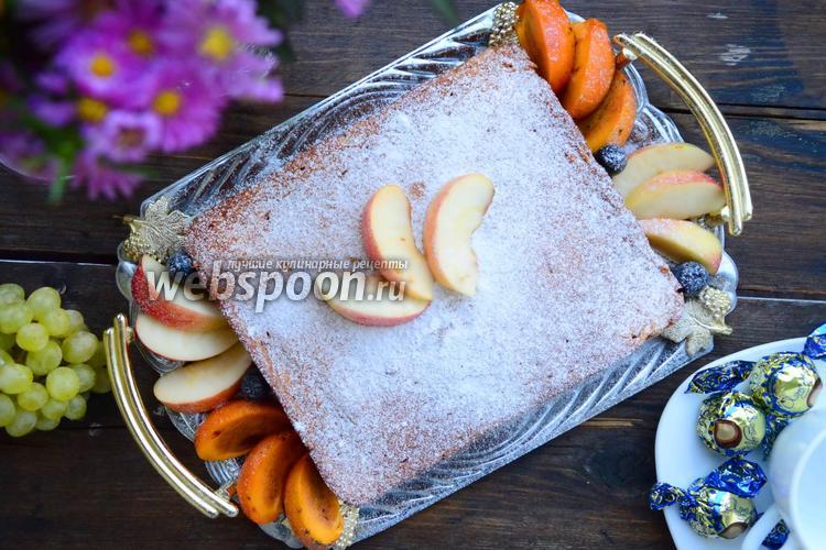 Фото Тыквенно-яблочный пирог