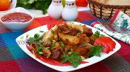 Фото рецепта Жареная свинина с картофелем