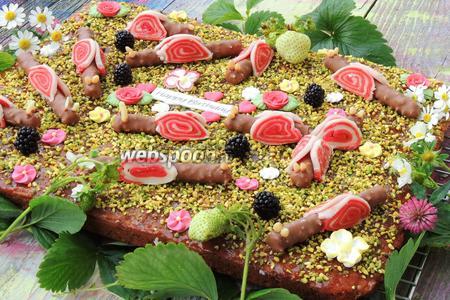 Торт «Поляна улиток»