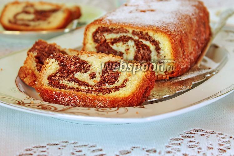Фото Мраморный кекс от Пьера Эрме