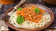 Фото рецепта Бараний фарш с луком-пореем