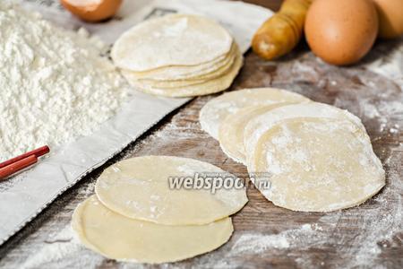 Тесто для вонтонов