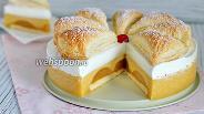 Фото рецепта Торт «Яблочное суфле с мармеладом»