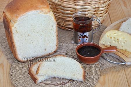 Хлеб на желтках в хлебопечке