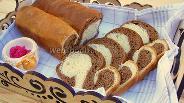 Фото рецепта Мраморный хлеб