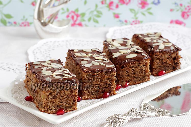 Фото Тыквенный пирог с орехами