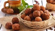Фото рецепта Крокеты из фасоли, картофеля и орехов