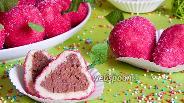 Фото рецепта Вафельные клубнички