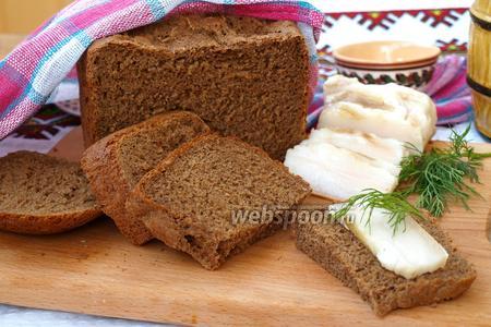 Ржаной хлеб на солоде в хлебопечке