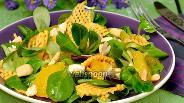 Фото рецепта Салат с тыквой и апельсинами