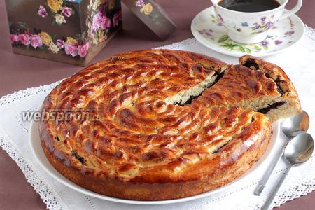 Маковый пирог «Спираль»