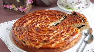 Фото рецепта Маковый пирог «Спираль»
