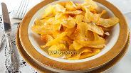 Фото рецепта Картофельные чипсы
