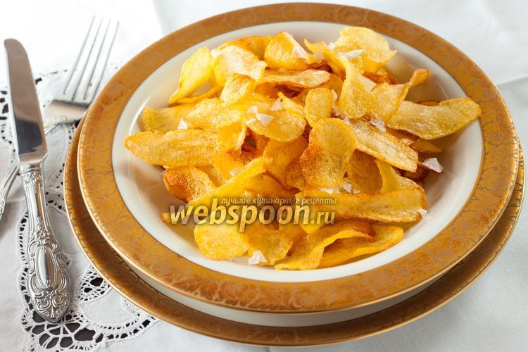 Фото Картофельные чипсы