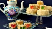 Фото рецепта Пирожные без выпечки с мармеладом