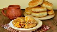 Фото рецепта Постные пирожки с тыквой