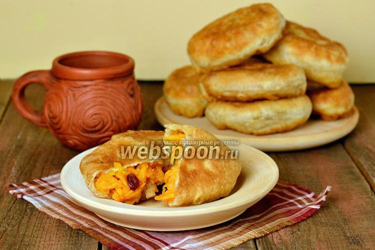 Фото Постные пирожки с тыквой