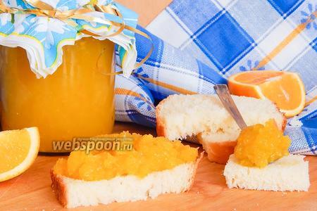 Повидло из кабачков с апельсином