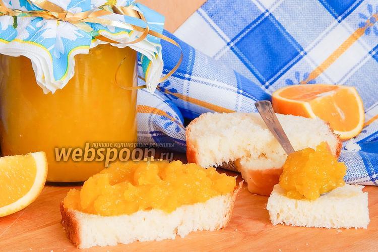 Фото Повидло из кабачков с апельсином