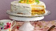 Фото рецепта Торт «Пина-колада»