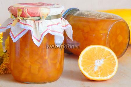 Кабачковое варенье с апельсином в мультиварке