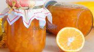 Фото рецепта Кабачковое варенье с апельсином в мультиварке