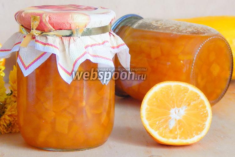 Фото Кабачковое варенье с апельсином в мультиварке