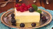 Фото рецепта Двухслойная творожная запеканка