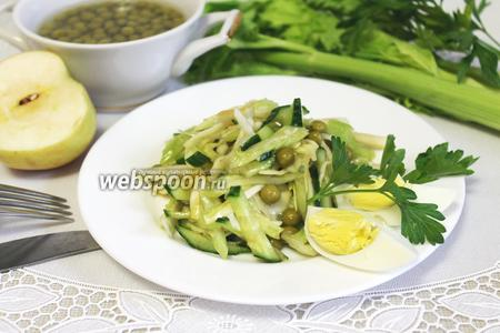 Салат зелёный «Щётка»