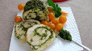 Фото рецепта Филе индейки с соусом песто